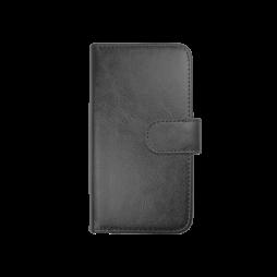 Samsung Galaxy S6 Edge - Preklopna torbica (WLD) - črna
