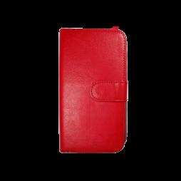 Samsung Galaxy S6 Edge - Preklopna torbica (WLD) - rdeča
