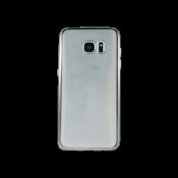 Samsung Galaxy S7 Edge - Gumiran ovitek (TPUE) - rob črn