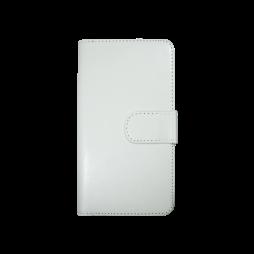 Samsung Galaxy S7 Edge - Preklopna torbica (WLD) - bela