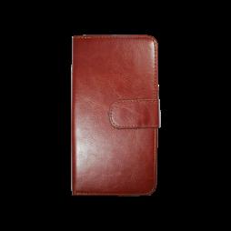 Samsung Galaxy S7 Edge - Preklopna torbica (WLD) - rjava
