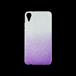 HTC Desire 825/10 Lifestyle - Gumiran ovitek (TPUB) - vijolična