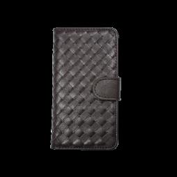 Apple iPhone 5/5S/SE - Preklopna torbica (58) - temno rjava