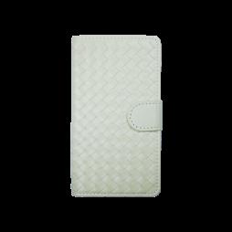 Samsung Galaxy S6 - Preklopna torbica (58) - bela