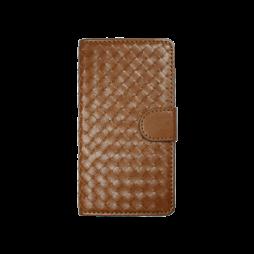 Samsung Galaxy S6 - Preklopna torbica (58) - rjava