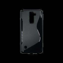 LG Stylus 2 - Gumiran ovitek (TPU) - črn SLine