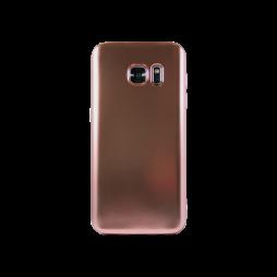 Samsung Galaxy S7 - Gumiran ovitek (TPUE) - mat roza