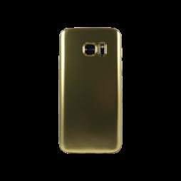 Samsung Galaxy S7 - Gumiran ovitek (TPUE) - mat zlat