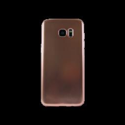 Samsung Galaxy S7 Edge - Gumiran ovitek (TPUE) - mat roza