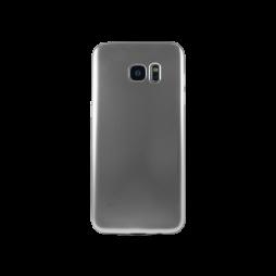 Samsung Galaxy S7 Edge - Gumiran ovitek (TPUE) - mat srebrn