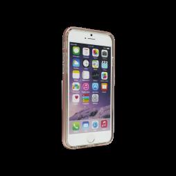 Apple iPhone 6/6S - Gumiran ovitek (TPU+ALU) - roza