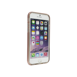 Apple iPhone 6Plus/6SPlus - Gumiran ovitek (TPU+ALU) - roza
