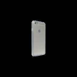 Apple iPhone 6Plus/6SPlus - Gumiran ovitek (TPU+ALU) - srebrn