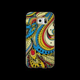 Samsung Galaxy S6 - Gumiran ovitek (TPU3D) - vzorec 1