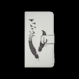 Sony Xperia M4 Aqua - Preklopna torbica (WLGP) - Feather