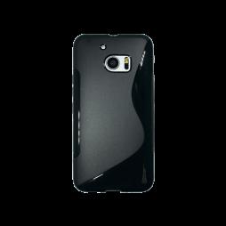 HTC 10/10 Lifestyle - Gumiran ovitek (TPU) - črn SLine