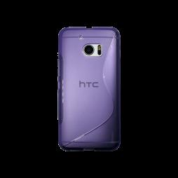 HTC 10/10 Lifestyle - Gumiran ovitek (TPU) - vijolično-prosojen SLine