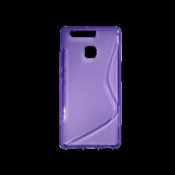 Huawei P9 - Gumiran ovitek (TPU) - vijolično-prosojen SLine