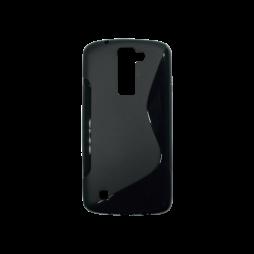 LG K8 - Gumiran ovitek (TPU) - črn SLine