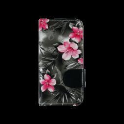 Apple iPhone 5/5S/SE - Preklopna torbica (64) - črna