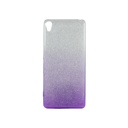 Sony Xperia XA - Gumiran ovitek (TPUB) - vijolična