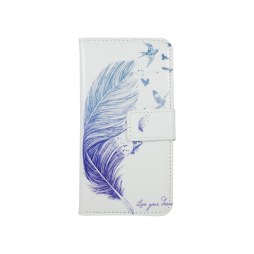Apple iPhone 6/6S - Preklopna torbica (WLGPD) - Feather
