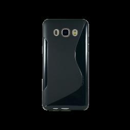 Samsung Galaxy J5 (2016) - Gumiran ovitek (TPU) - črna SLine