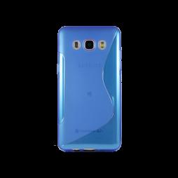 Samsung Galaxy J5 (2016) - Gumiran ovitek (TPU) - modro-prosojna SLine