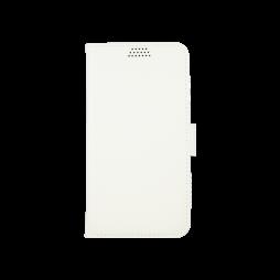 Samsung Galaxy J1 (2016) - Preklopna torbica (WLG) - bela