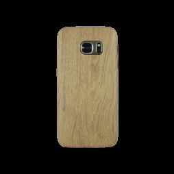 Samsung Galaxy S7 - Gumiran ovitek (27) - svetlo rjav