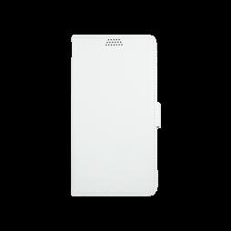 Huawei Y5 II/Y6 II Compact - Preklopna torbica (WLG) - bela