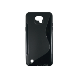 LG X cam - Gumiran ovitek (TPU) - črn SLine