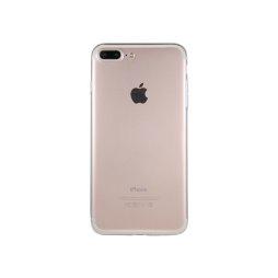 Apple iPhone 7 Plus/8 Plus - Gumiran ovitek (TPUA) - prosojen