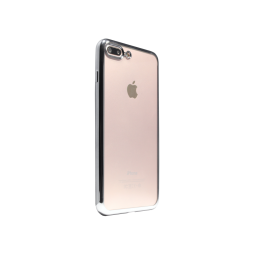 Apple iPhone 7 Plus/8 Plus - Gumiran ovitek (TPUE) - rob črn