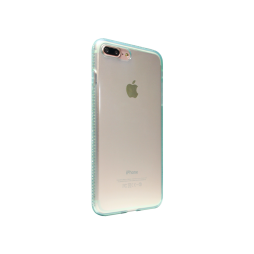 Apple iPhone 7 Plus/8 Plus - Gumiran ovitek (TPUD) - rob zelen