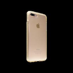 Apple iPhone 7 Plus/8 Plus - Gumiran ovitek (TPUD) - rob oranžen