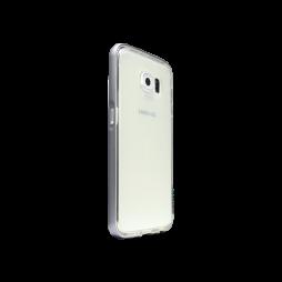 Samsung Galaxy S6 - Gumiran ovitek (TPU+ALU) - siv