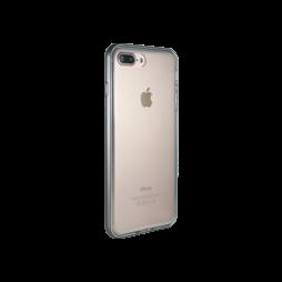 Apple iPhone 7 Plus/8 Plus - Gumiran ovitek (TPU+ALU) - siv