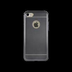 Apple iPhone 7/8 - Gumiran ovitek (TPUE) - cel črn