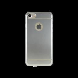 Apple iPhone 7/8 - Gumiran ovitek (TPUE) - cel srebrn