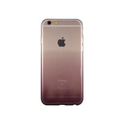 Apple iPhone 6/6S - Gumiran ovitek (TPUO) - kavna