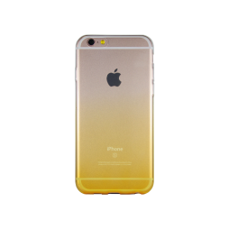 Apple iPhone 6/6S - Gumiran ovitek (TPUO) - rumena