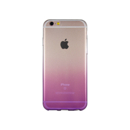 Apple iPhone 6Plus/6SPlus - Gumiran ovitek (TPUO) - vijolična