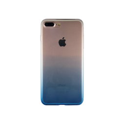 Apple iPhone 7 Plus/8 Plus - Gumiran ovitek (TPUO) - modra