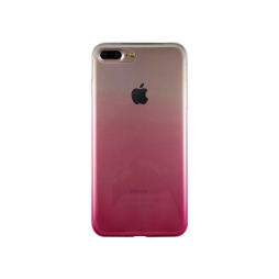 Apple iPhone 7 Plus/8 Plus - Gumiran ovitek (TPUO) - roza