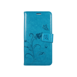 Sony Xperia M5 - Preklopna torbica (WLGO) - turkizna