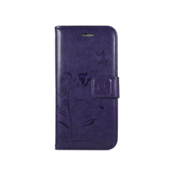 Apple iPhone 6/6S - Preklopna torbica (WLGO) - vijolična
