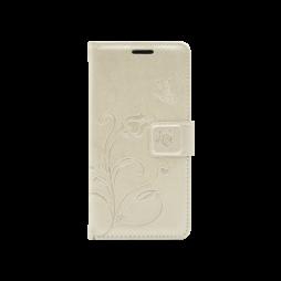 Samsung Galaxy A3 (2016) - Preklopna torbica (WLGO) - zlata