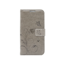 Samsung Galaxy A5 (2016) - Preklopna torbica (WLGO) - siva