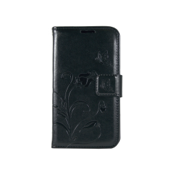 Samsung Galaxy J1 (2016) - Preklopna torbica (WLGO) - črna